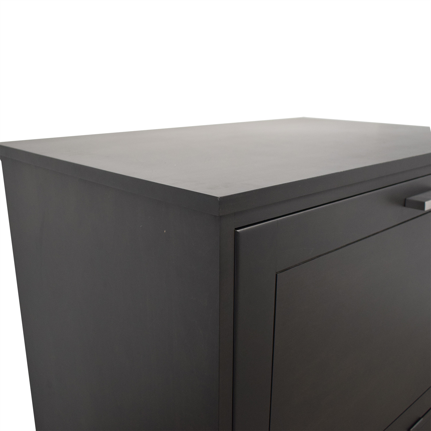 Room & Board Room & Board Linear Office Armoire dark brown