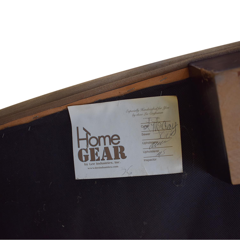 Crate & Barrel Crate & Barrel Suede Sofa Chair nj