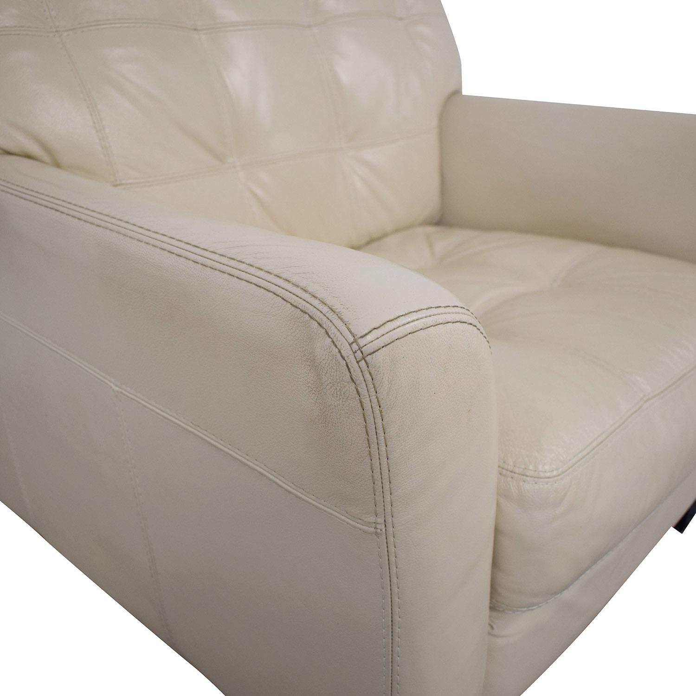 Macy's Macy's Leather Armchair nj