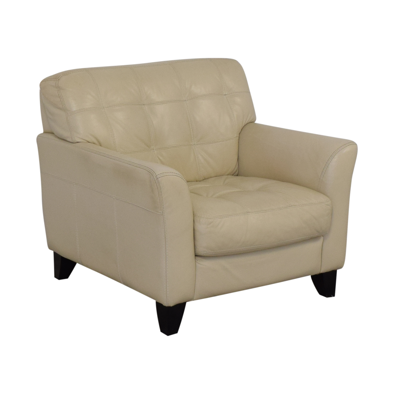 Macy's Macy's Leather Armchair on sale