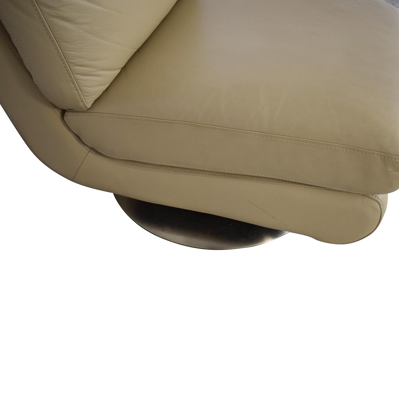 West Elm West Elm Armless Swivel Chair coupon