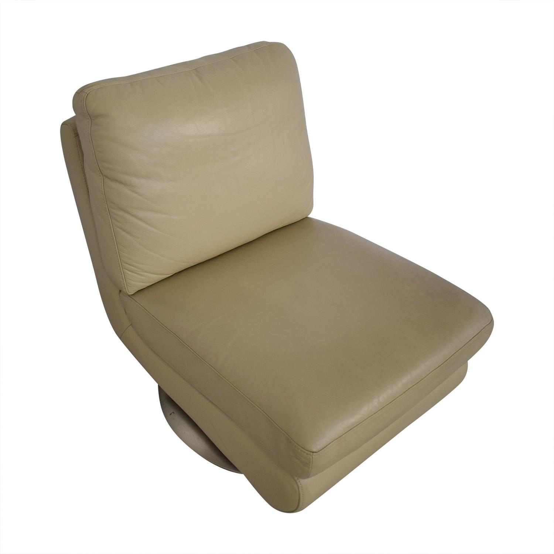 West Elm Armless Swivel Chair / Chairs
