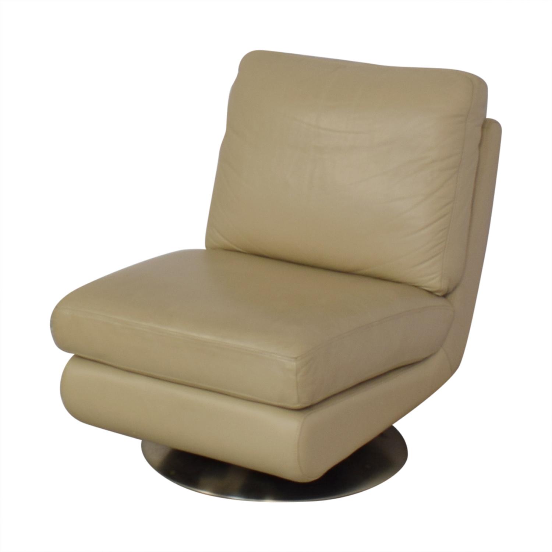 West Elm West Elm Armless Swivel Chair Chairs