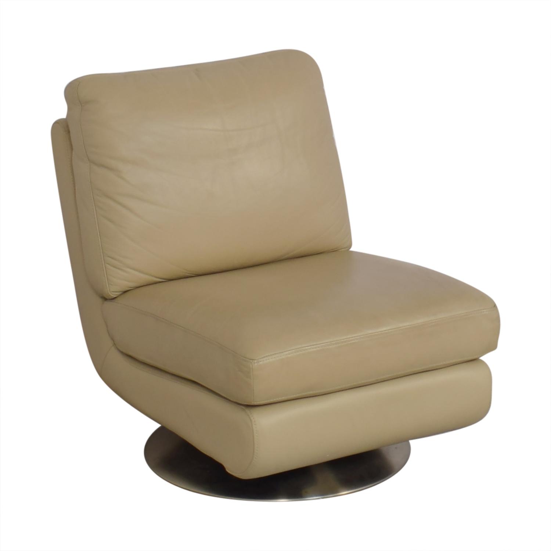 West Elm West Elm Armless Swivel Chair for sale