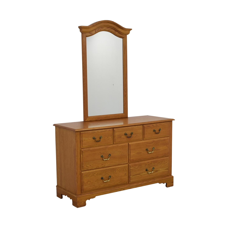Ethan Allen Ethan Allen Canterbury Dresser with Mirror price