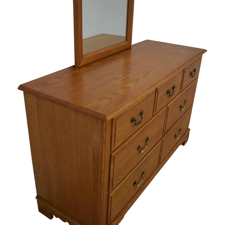 Ethan Allen Ethan Allen Canterbury Dresser with Mirror on sale