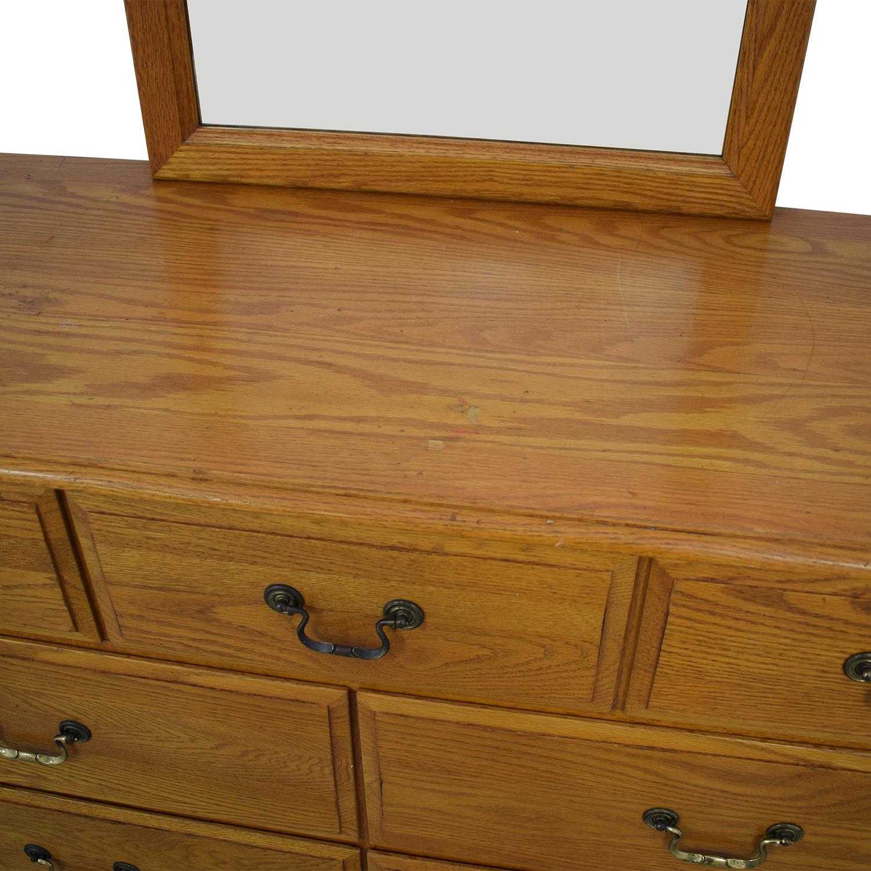 buy Ethan Allen Ethan Allen Canterbury Dresser with Mirror online
