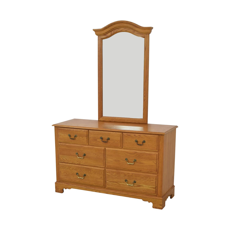 Ethan Allen Ethan Allen Canterbury Dresser with Mirror second hand