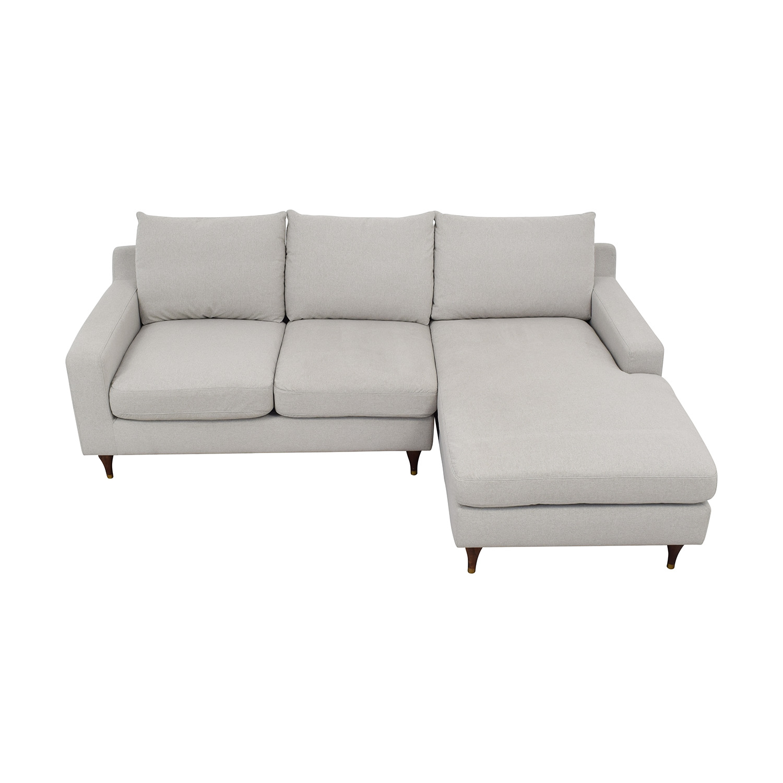 shop Interior Define Sloan Sectional Sofa with Chaise Interior Define Sofas