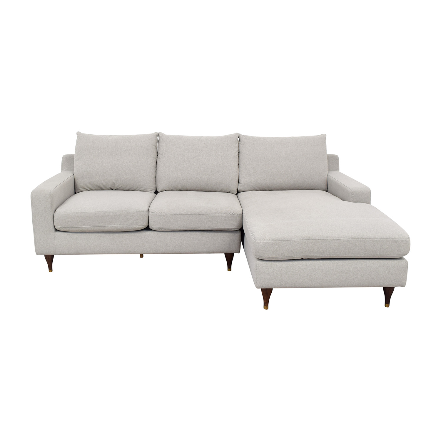 shop Interior Define Interior Define Sloan Sectional Sofa with Chaise online