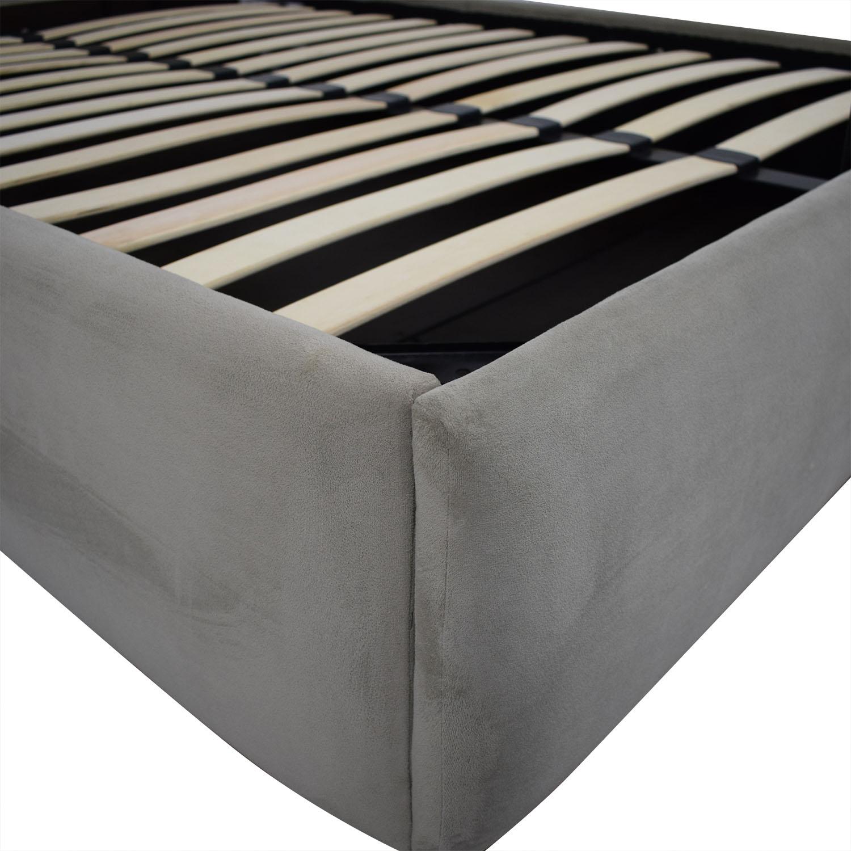 buy West Elm Haven Storage Full Bed West Elm Beds