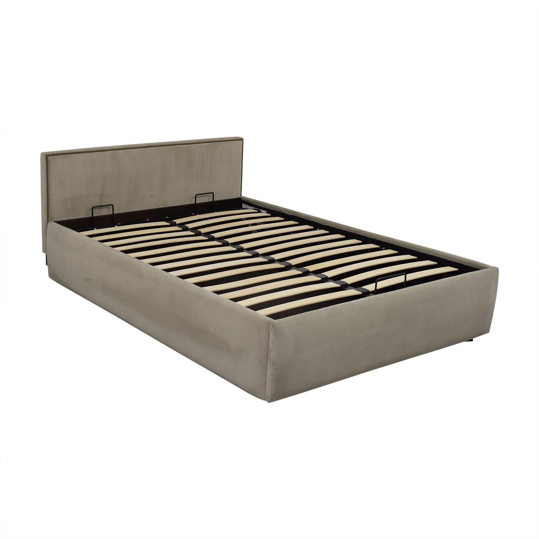 West Elm Haven Storage Full Bed West Elm