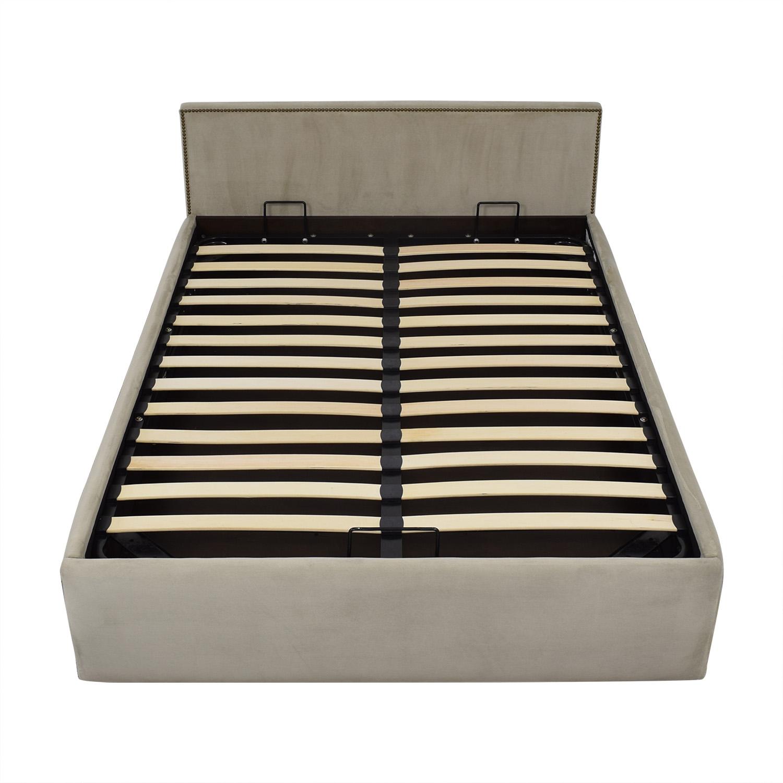 West Elm West Elm Haven Storage Full Bed Beds