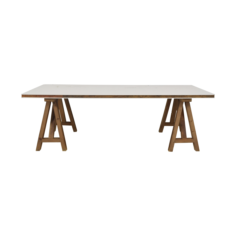 Safavieh Safavieh Kirby Pinewood Dining Table for sale