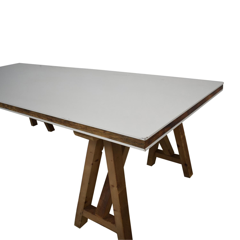 Safavieh Safavieh Kirby Pinewood Dining Table dimensions