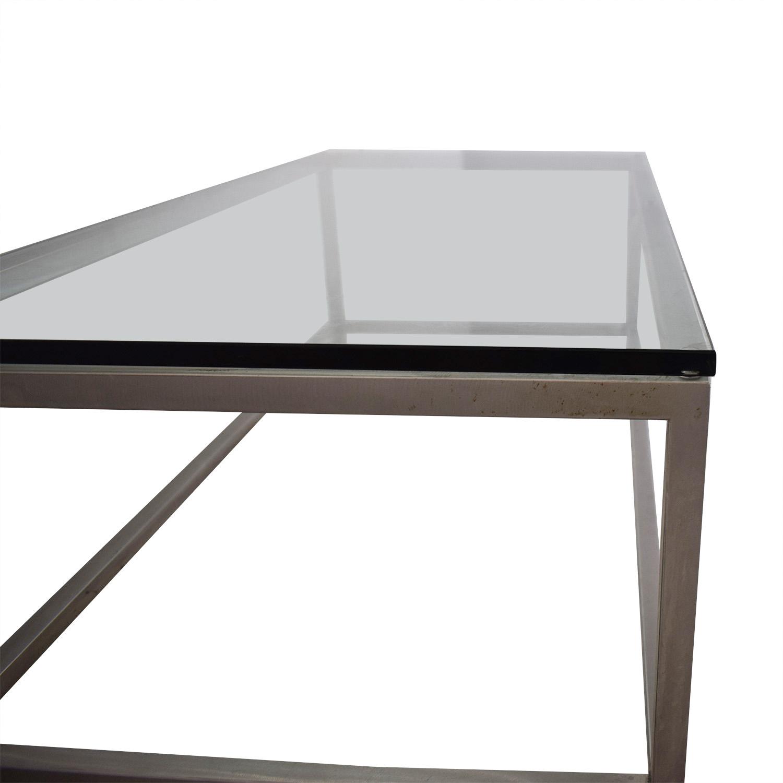 Crate & Barrel Crate & Barrel Era Rectangular Coffee Table nyc