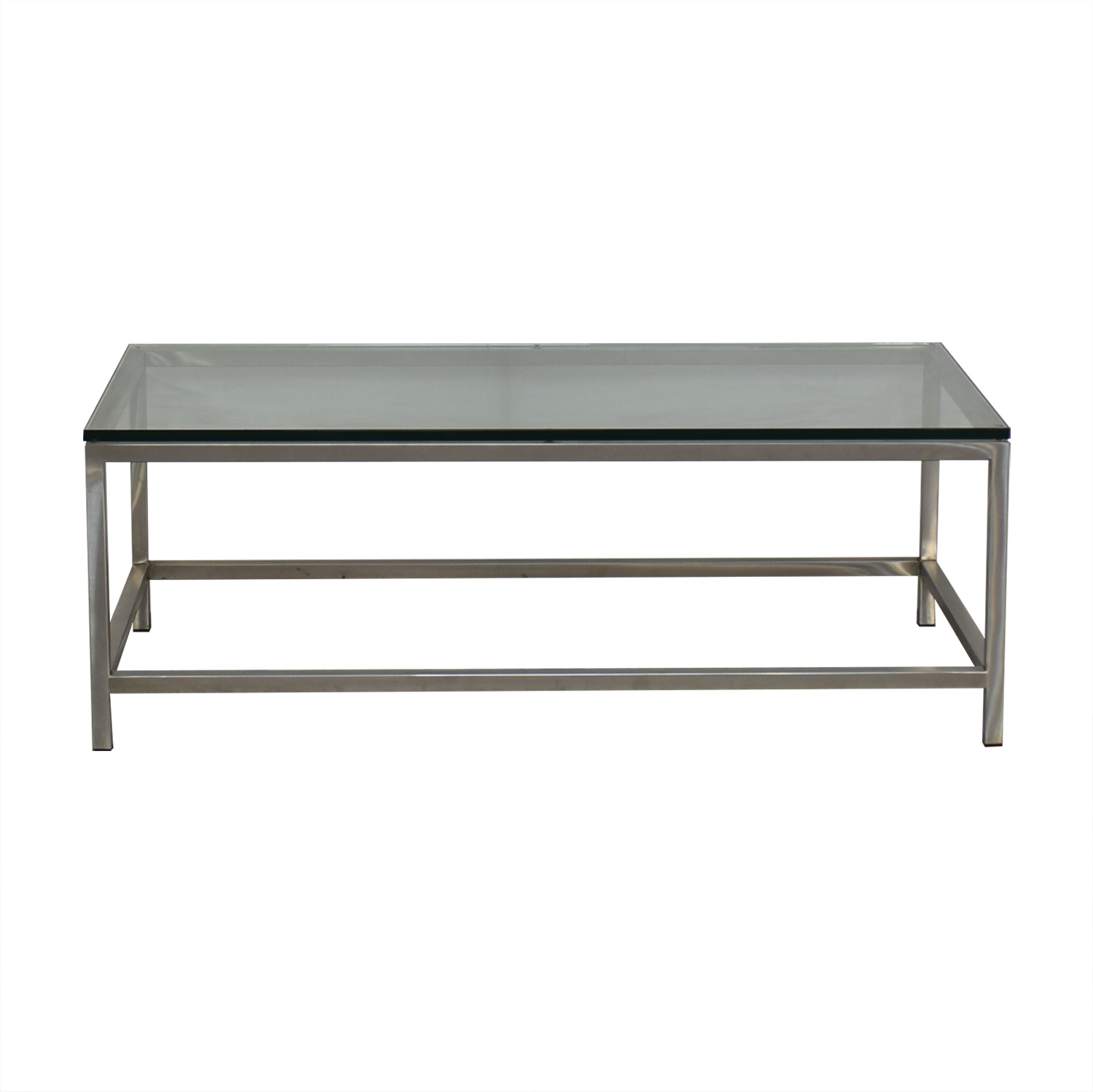 Crate & Barrel Era Rectangular Coffee Table / Coffee Tables