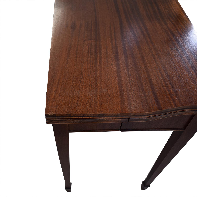 Antique Expandable Console Table / Tables