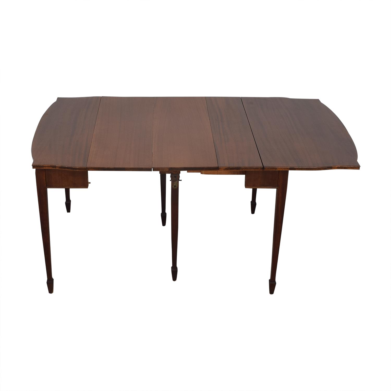 Antique Expandable Console Table nj