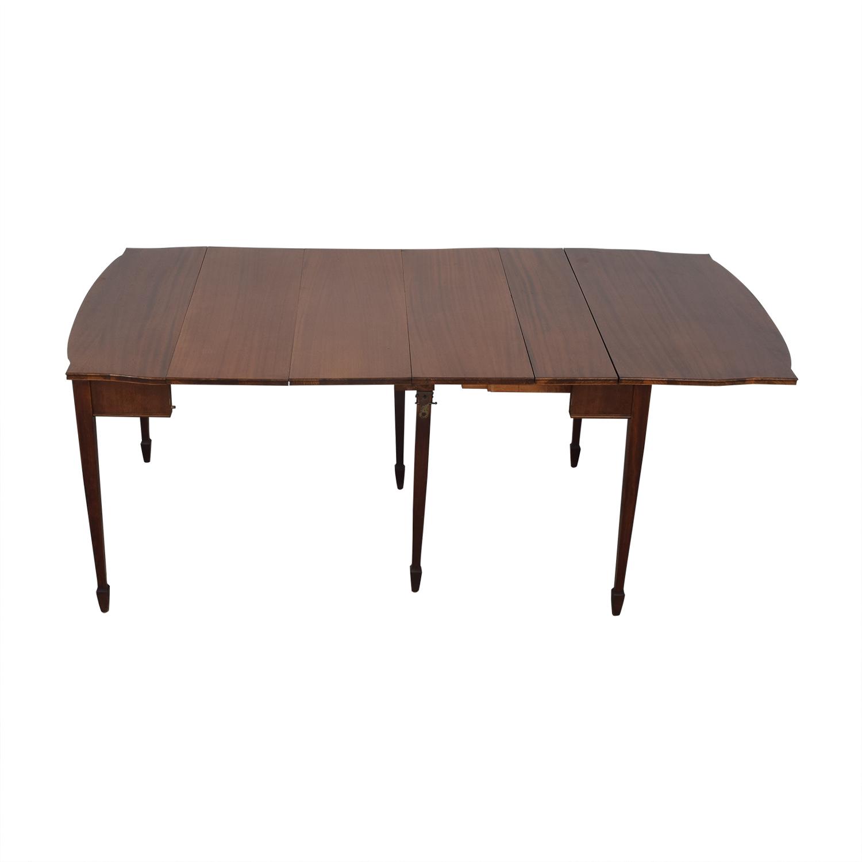 shop Antique Expandable Console Table