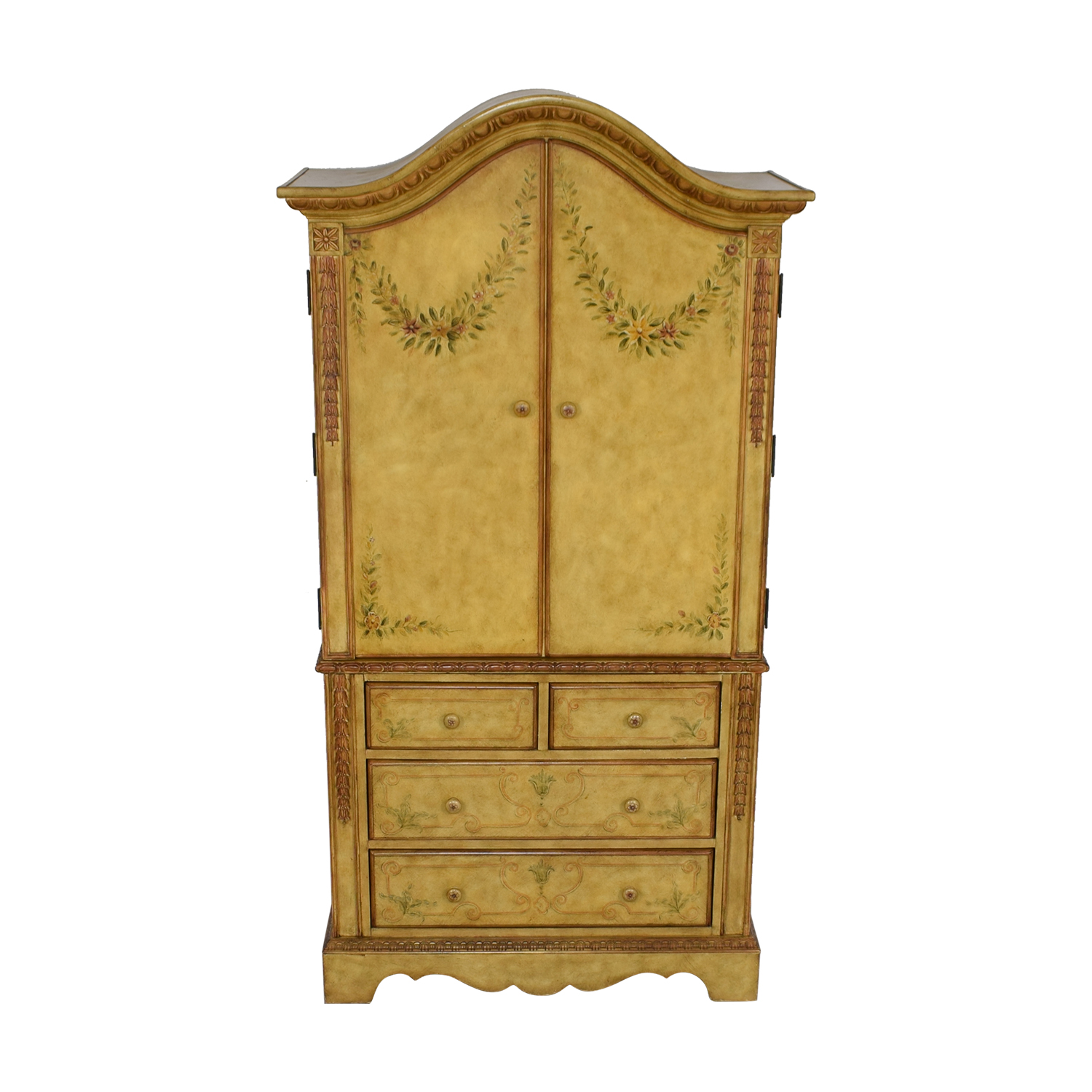 shop Domain Home Hand-Painted Armoire Domain Home Storage