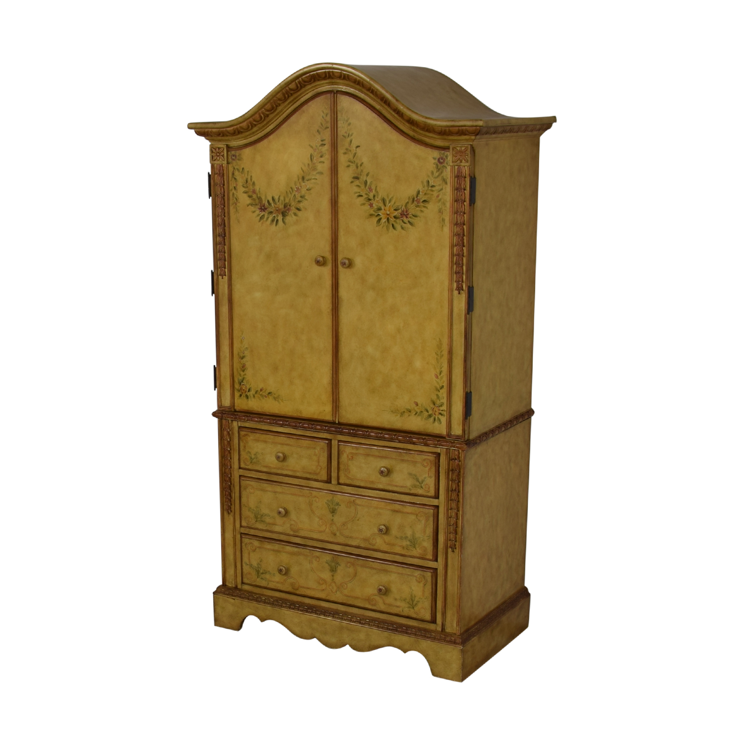 shop Domain Home Hand-Painted Armoire Domain Home Wardrobes & Armoires