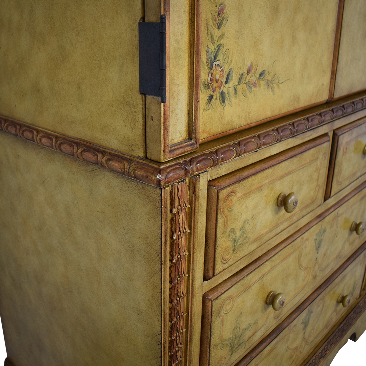 Domain Home Domain Home Hand-Painted Armoire nyc