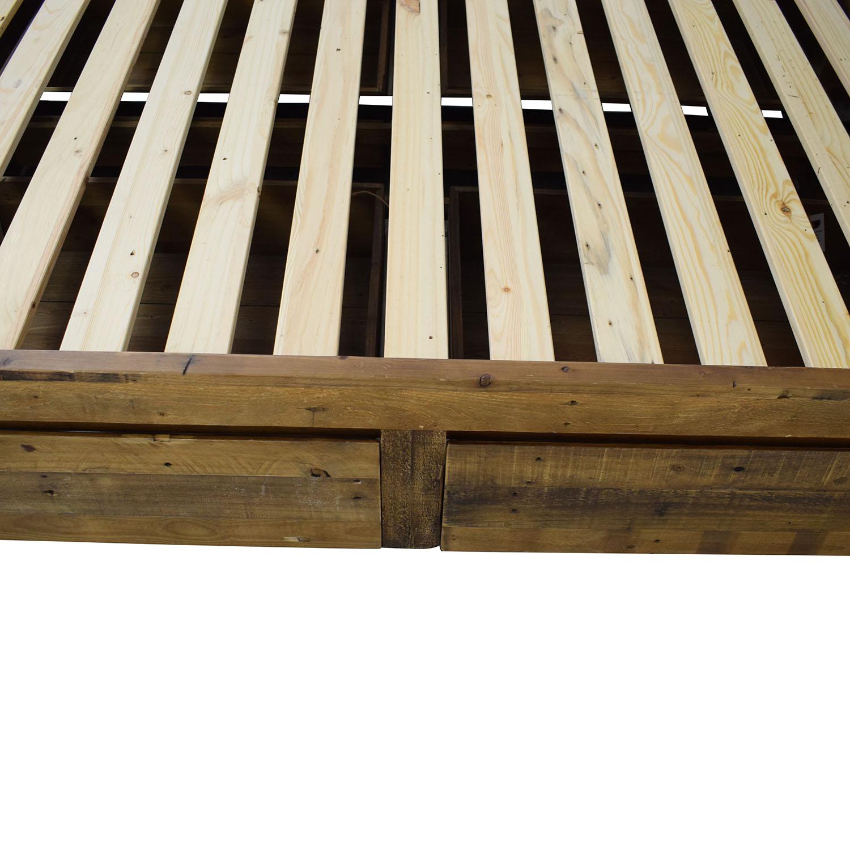 West Elm West Elm Emmerson Reclaimed Wood Storage Full Bed coupon