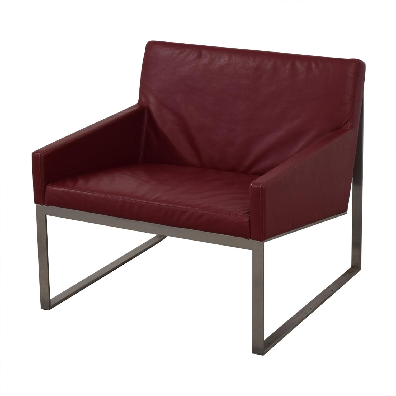 Bernhardt Bernhardt B.3 Lounge Chair red