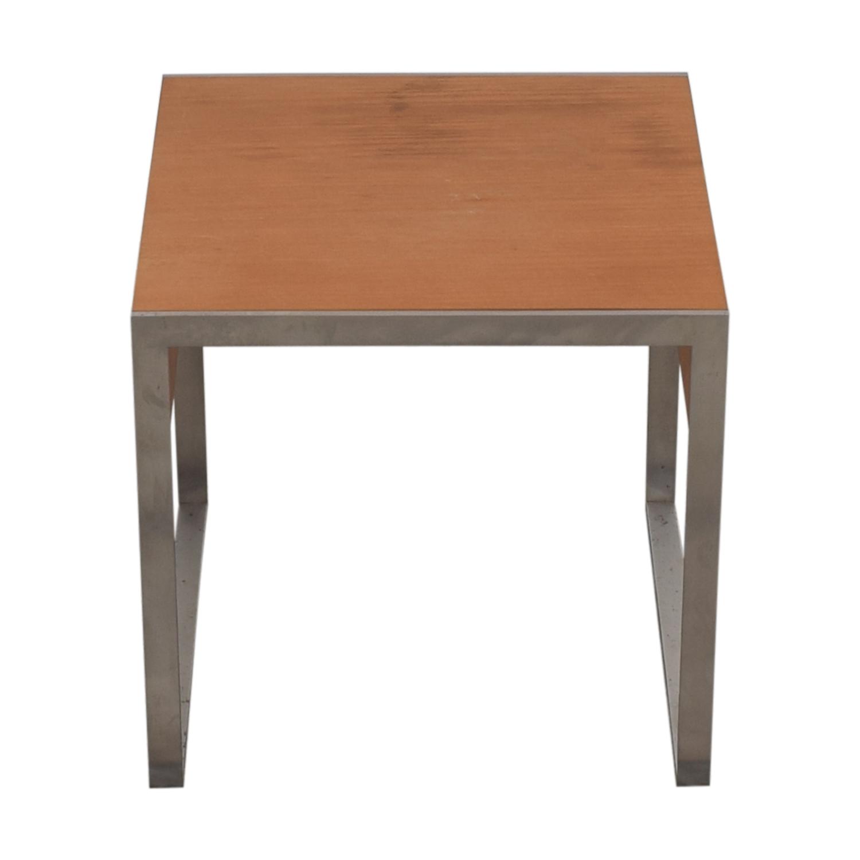 Bernhardt Square Occasional Side Table Bernhardt