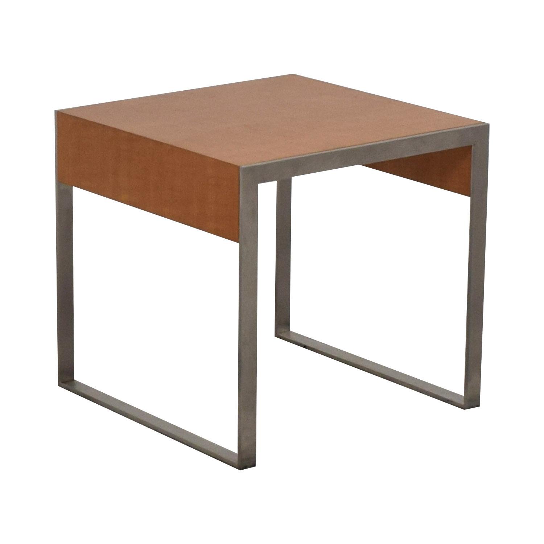 shop Bernhardt Square Occasional Side Table Bernhardt End Tables