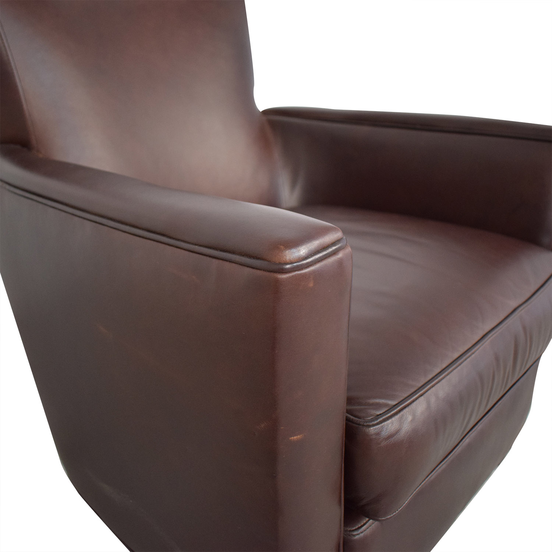 Crate & Barrel Crate & Barrel Briarwood Club Chair used