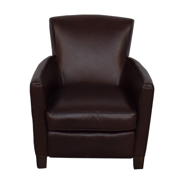 Crate & Barrel Crate & Barrel Briarwood Club Chair nj
