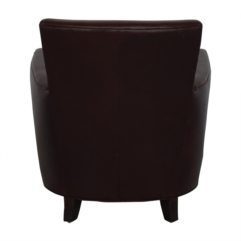 buy Crate & Barrel Briarwood Club Chair Crate & Barrel