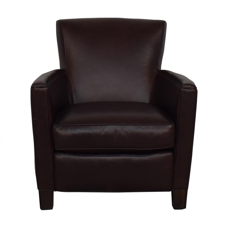 Crate & Barrel Crate & Barrel Briarwood Club Chair discount