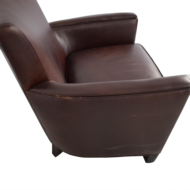 Crate & Barrel Crate & Barrel Briarwood Club Chair for sale