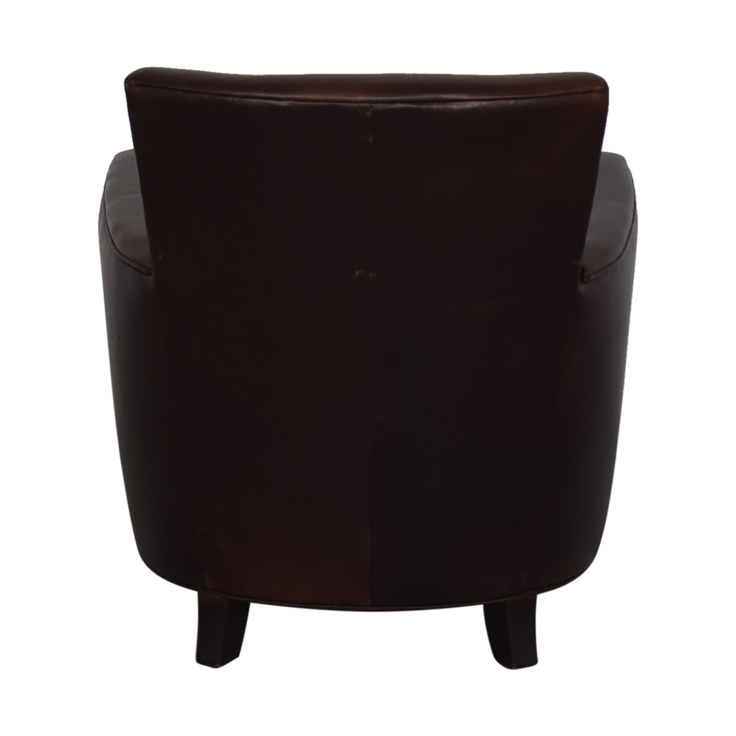 Crate & Barrel Crate & Barrel Briarwood Leather Chair Chairs
