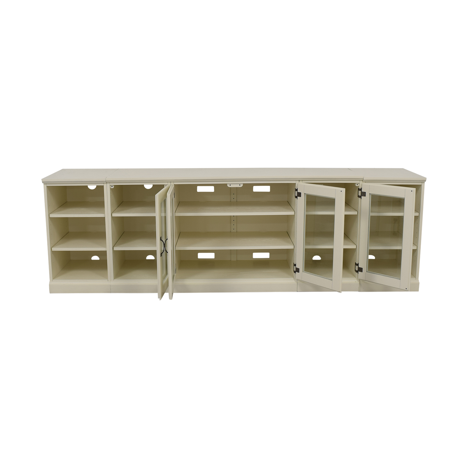 Pottery Barn Pottery Barn Media Unit white