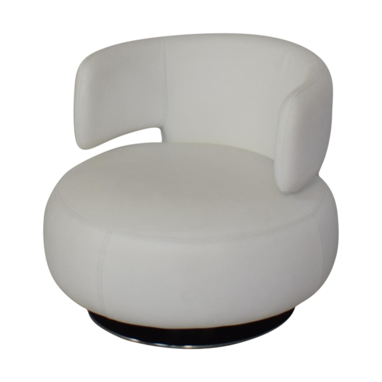 Roche Bobois Roche Bobois Curl Swivel Armchair used