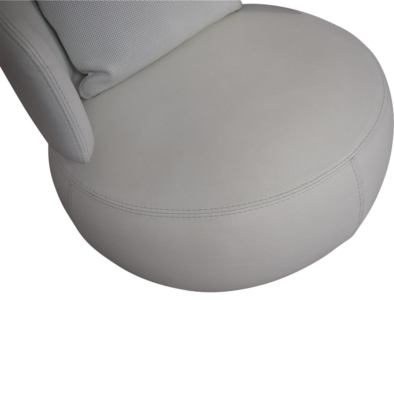 shop Roche Bobois Curl Swivel Armchair Roche Bobois Chairs
