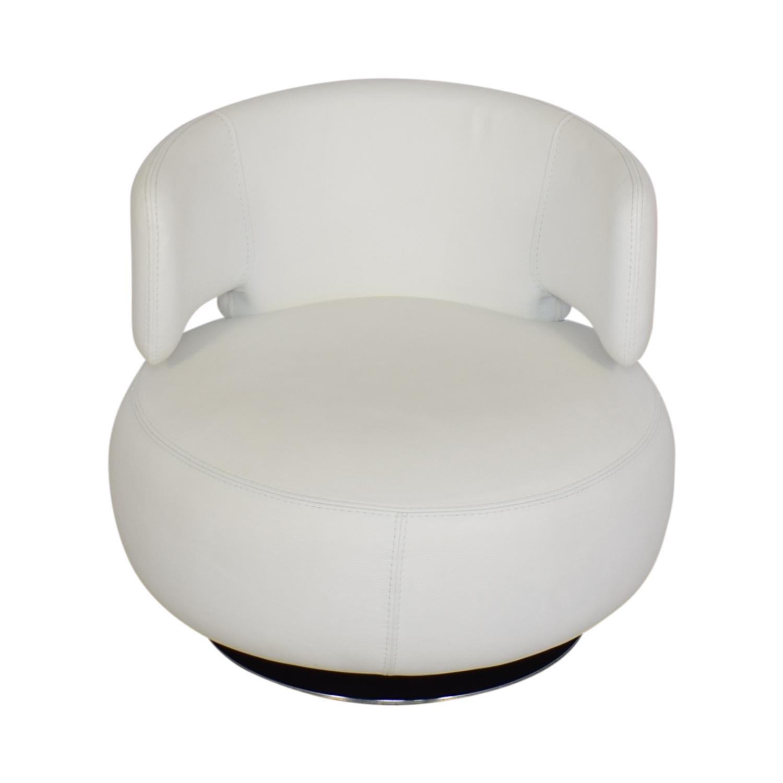 buy Roche Bobois Roche Bobois Curl Swivel Armchair online