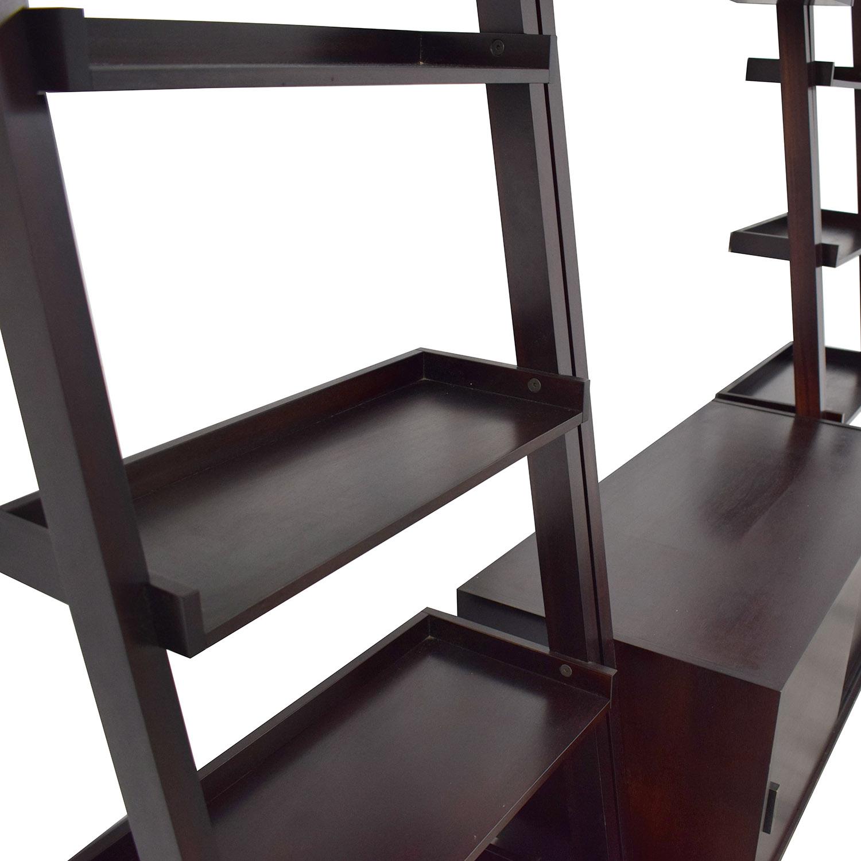 shop Crate & Barrel Crate & Barrel Sawyer Media Unit and Bookcases online