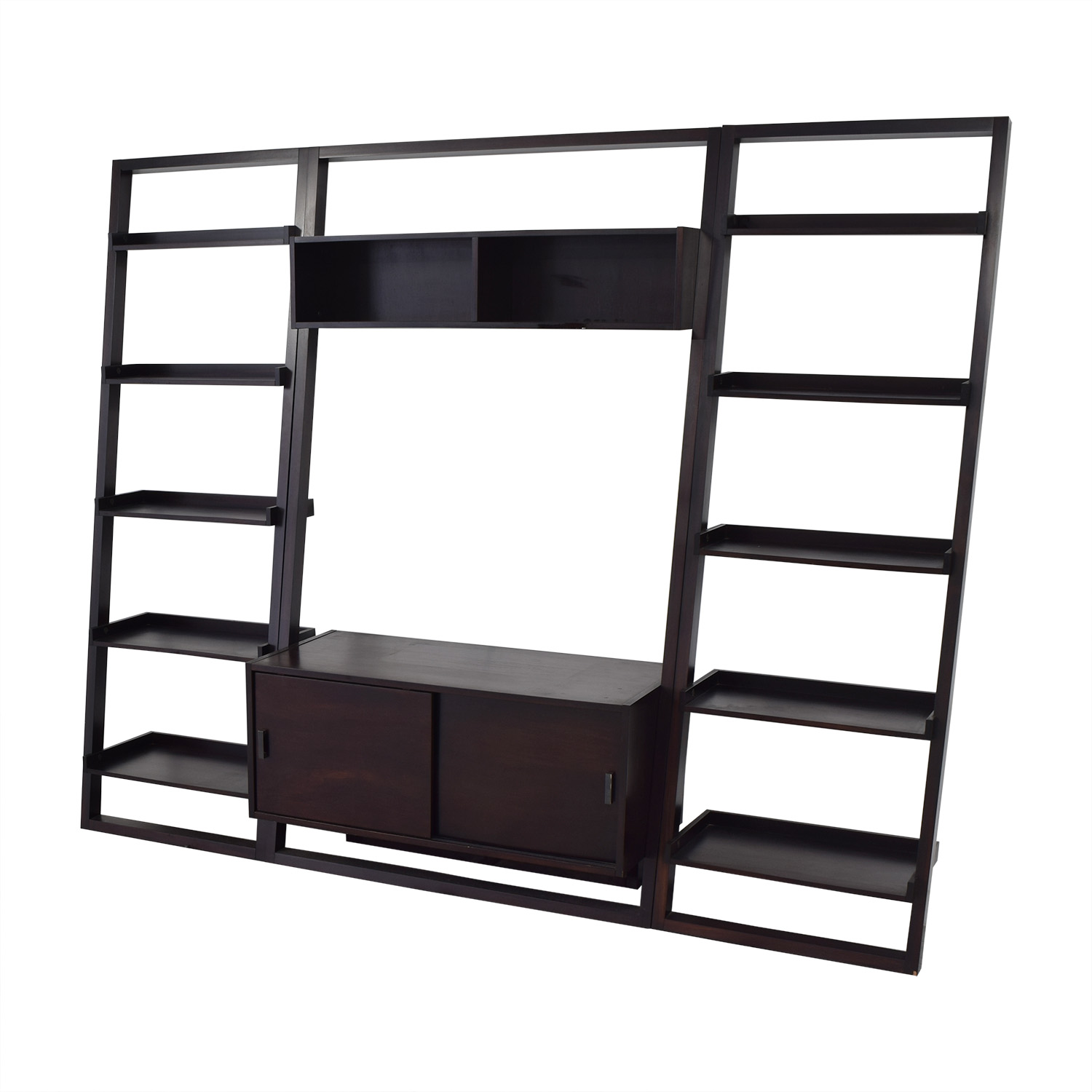 Crate & Barrel Crate & Barrel Sawyer Media Unit and Bookcases for sale