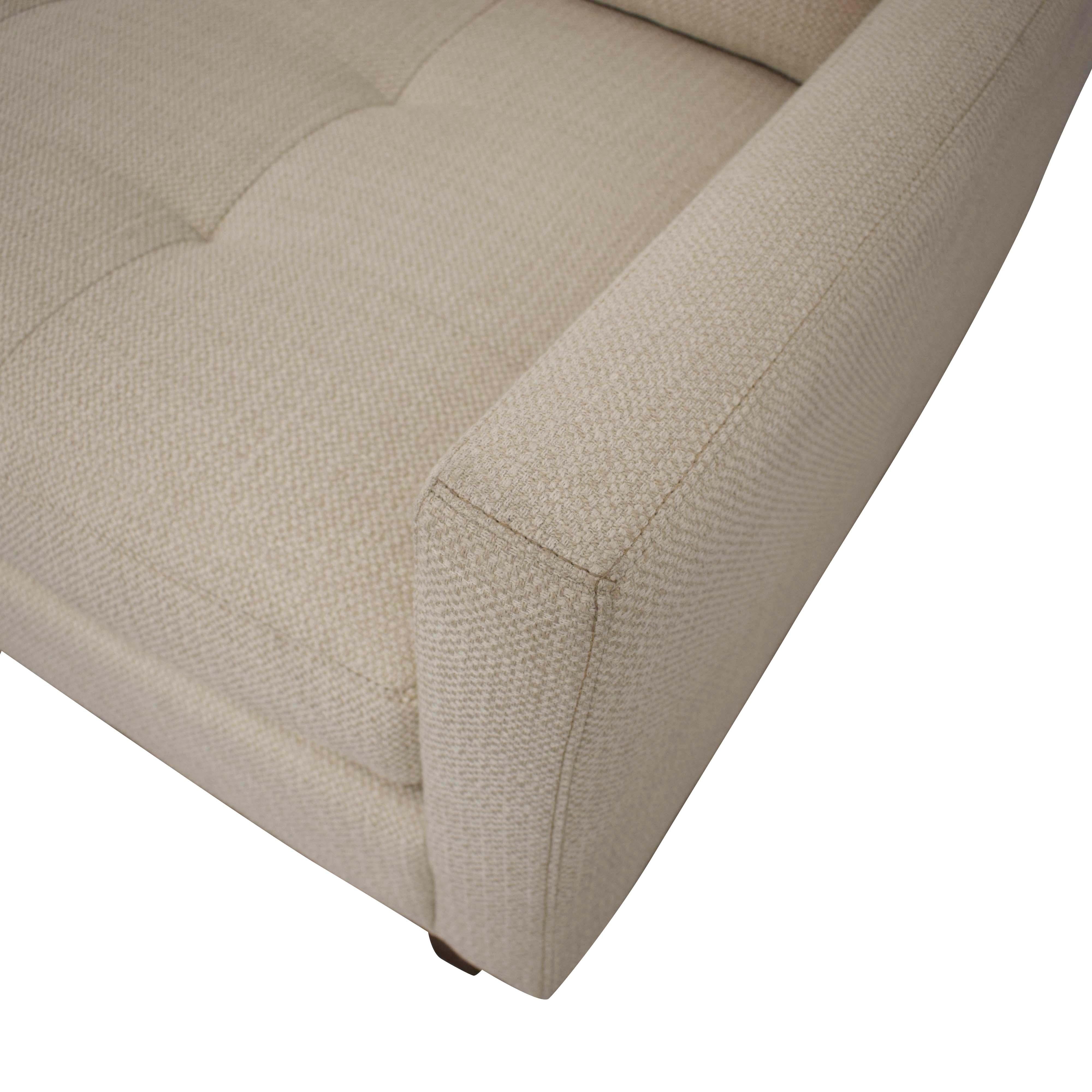 Macy's Macy's Nari Fabric Tufted Sofa nj