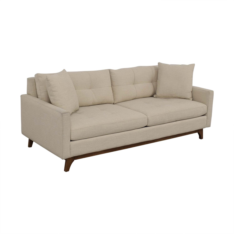 Macy's Macy's Nari Fabric Tufted Sofa price
