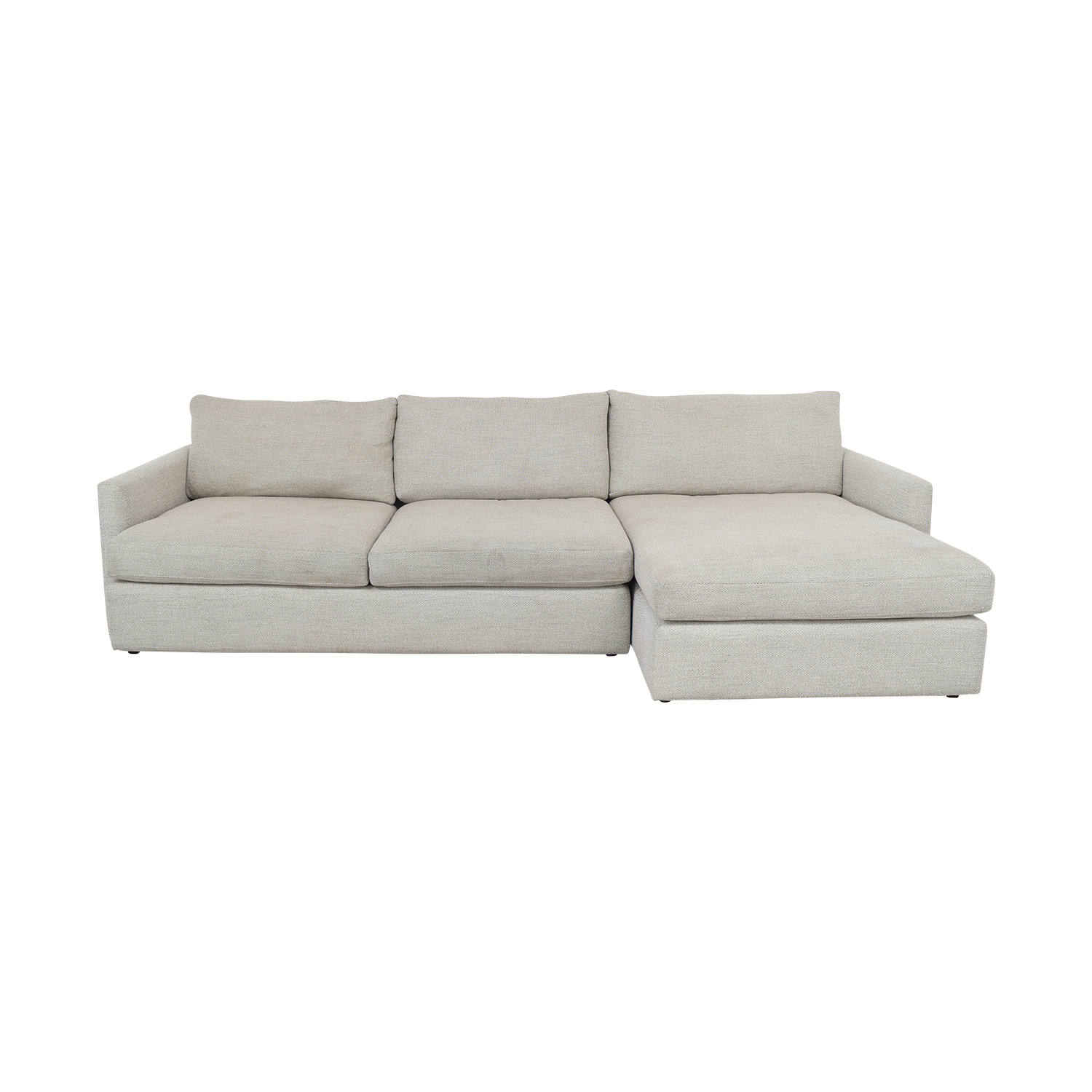 Crate & Barrel Crate & Barrel Lounge II 2-Piece Sectional Sofa
