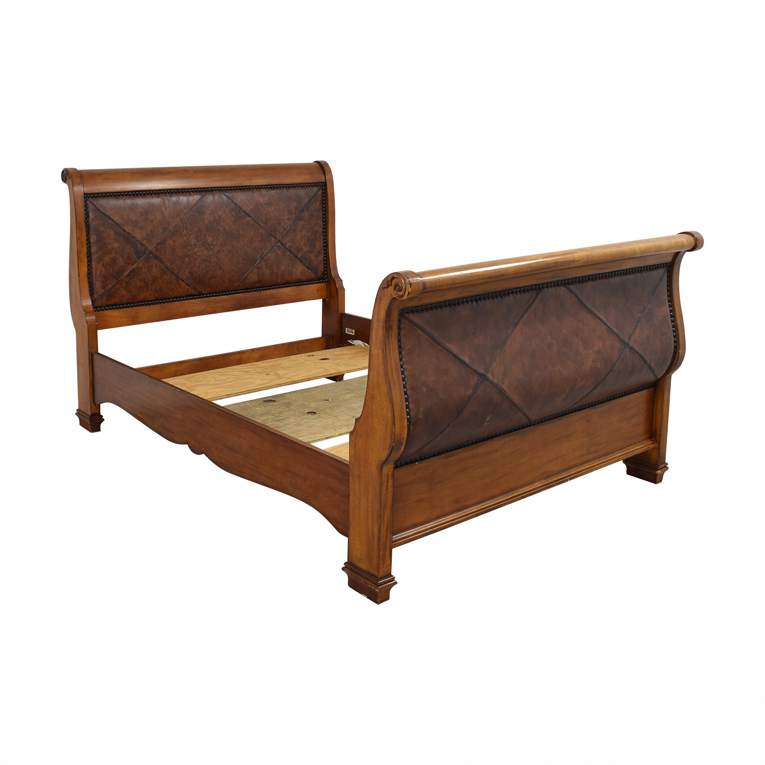 80 Off Lexington Furniture Wooden Sleigh Bed Beds