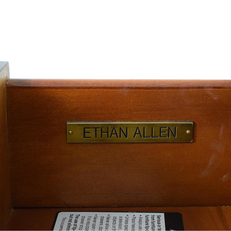 shop Ethan Allen Lucca Serpentine Chest Ethan Allen Storage