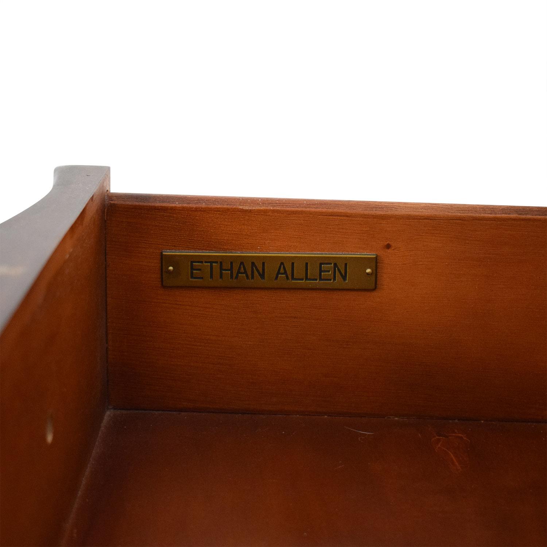 shop Ethan Allen Lucca Serpentine Chest Ethan Allen Dressers