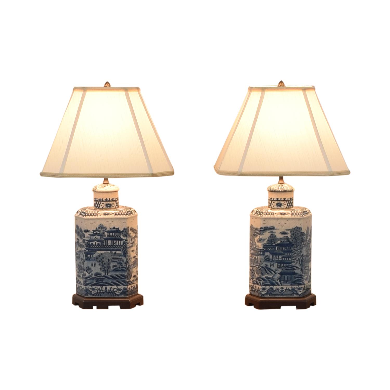 shop Ethan Allen Chinoiserie Tea Caddy Lamp Ethan Allen Decor